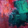 Abstrakt auf steinpapier, Malerei