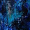 Informel, Blau, Malerei