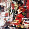 Abstrakte malerei, Moderne malerei, Gemälde abstrakt, Zeitgenössische malerei