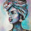 Malerei, Acrylmalerei, Portraitsmalerei, Zeitgenössisch