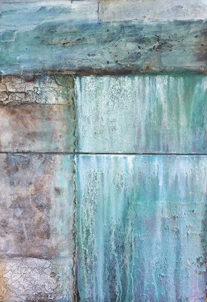 Abstrakt, Struktur, Acrylmalerei, Tusche, Marmormehl, Mischtechnik