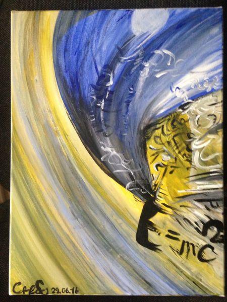 Dynamik, Nacht, Blau, Tag, Wissenschaft, Gelb