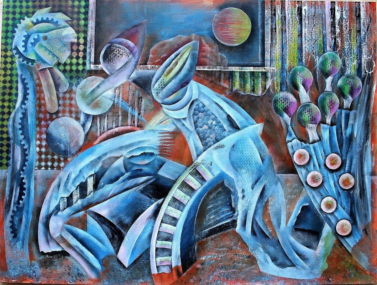 Overload Zaunlatten Tiere Orange Emotion Von Alex On Kunstnet
