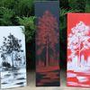 Rot, Baum, Weiß, Schwarz