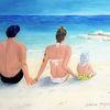 Sonne, Meer, Familie, Urlaub