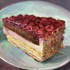 Himbeere, Malerei, Torte, Kuchen