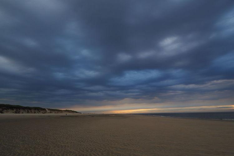 Nordsee, Sonnenuntergang, Insel, Wolken, Langeoog, Ostfriesland