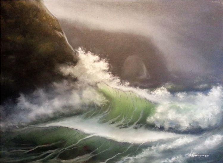 Natur, Grigorev, Malerei, Malerklasse, Malschule, Zeichnung