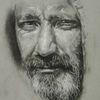 Kohlezeichnung, Portrait, Strathmorepaper, Zeichnungen