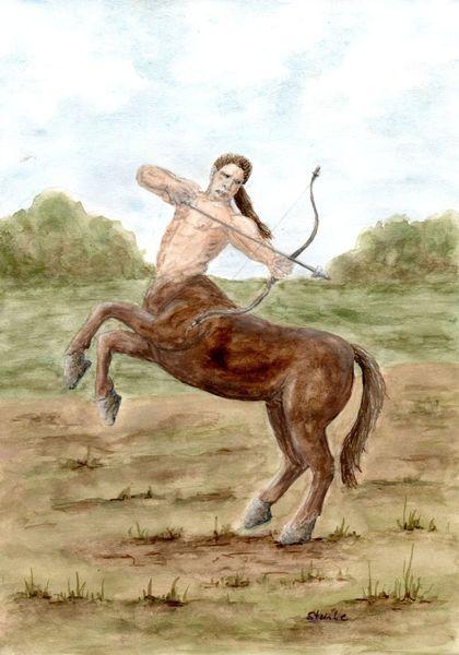 Schütze, Mythologie, Wesen, Sage, Fantasie, Pferde