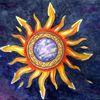 Universum, Aquarellmalerei, Sonne, Leben