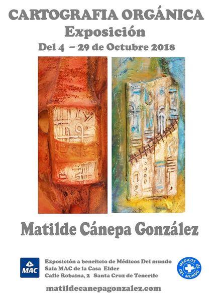 Teneriffa, Matilde canepa gonzalez, Santa cruz, Austellung, Pinnwand,