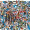 Kino, Collage, Bunt, Farben