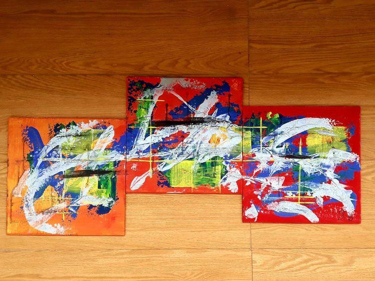 Rot, Abstrakt, Acrylmalerei, Malerei acryl, Einzelstück, Malerei modern
