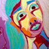 Leid, Portrait, Frau, Zeichnungen