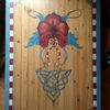 Tisch, Malerei, Holz, Maserung