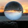 Glaskugel, Fotografie, Natur, Sonnenaufgang