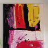 Acrylmalerei, Abstrakte kunst, Modern art, Malerei modern