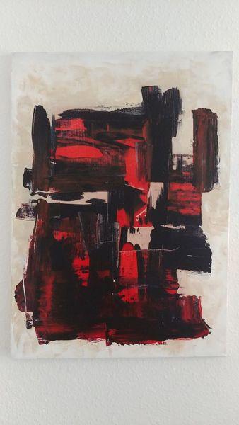 Weiß, Malerei modern, Abstrakt, Malerei, Pinsel, Farbverlauf