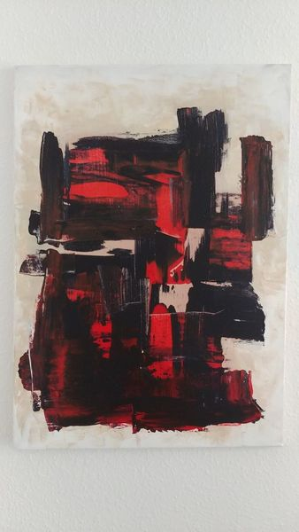 Malerei, Pinsel, Weiß, Malerei modern, Abstrakt, Abstrakte kunst