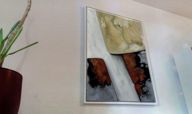 Formen, Natürlich, Abstrakt, Braun, Dekoration, Grau
