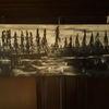 Landschaft, Abstrakt, Modern art, Malerei
