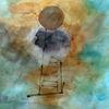 Grenze, Verstand, Abstrakt, Malerei