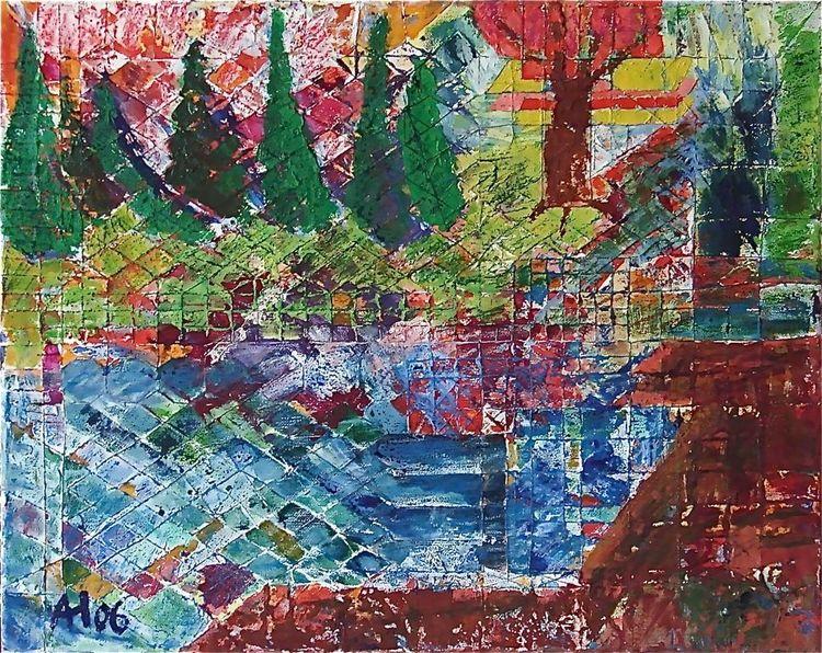 Acrylmalerei, Ölmalerei, Kanada, Malerei, Wald