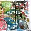 Malerei, Modern art, Aquarell