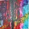 Bunt, Abstrakt, Modern, Acrylmalerei