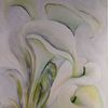 Vom künstler, Malerei, Gemälde, Weiße blüten