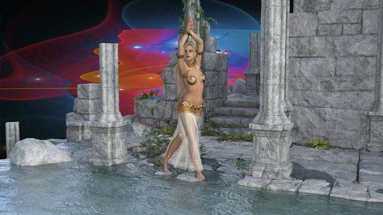 Universum, Abstrakt, Frau, Digitale kunst, Queen