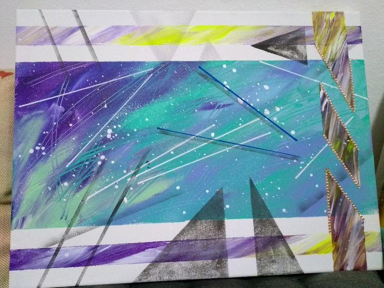 Farben, Gefühlswelten, Malerei, Abstrakt