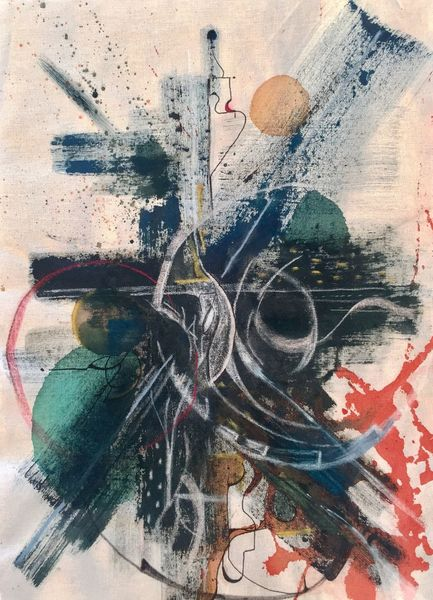 Abstrakt, Farben, Malerei, Places