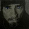 Bleistiftzeichnung, Portrait, Zeichnung, Bart