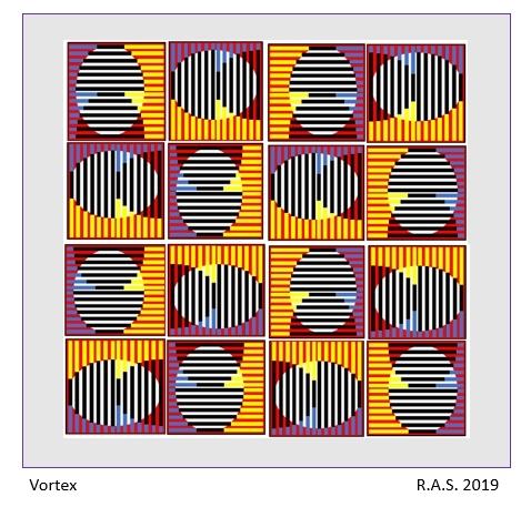 Bauhaus, Drehung, Konkrete kunst, Digitale kunst