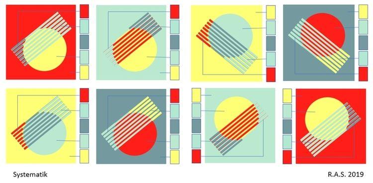 Kreis, Konkrete kunst, Kreisringe, Digitale kunst,