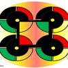 Logisches emblem, Gestaltung, Konkrete kunst, Digitale kunst
