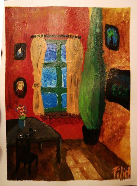 Malerei, Nachmittag