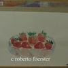 Erdbeeren, Stillleben, Aquarellmalerei, Aquarell