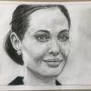 Bleistiftzeichnung, Angelina jolie, Zeichnungen,