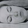 Frau, Schneewittchen, Schlaf, Zeichnungen