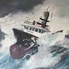 Sturm, Wasser, Acrylmalerei, Malerei