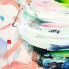 Energie, Winter, Abstrakt, Malerei