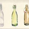 Befüllende, Gewaschene, Flasche, Martha krug