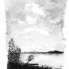 Norwegen, Aquarellmalerei, Landschaft, Aquarell