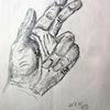Hand, Bleistiftzeichnung, Anatomie, Zeichnungen