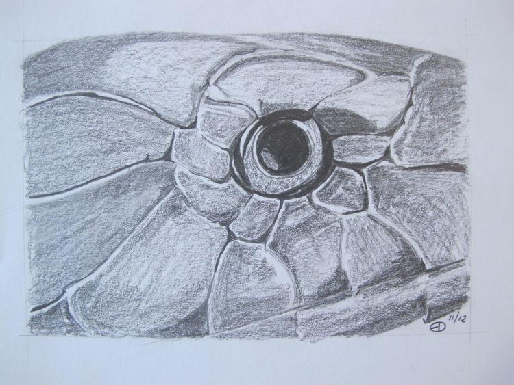 Tiere, Schlange, Bleistiftzeichnung, Zeichnungen