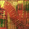 Malerei abstrakt, Abstrakte malerei, Leidenschaft abstrakt, Spachteltechnik