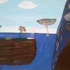 Abstrakte malerei, Natur, Fantasie, Malerei